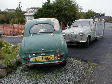Austin A30 and A35