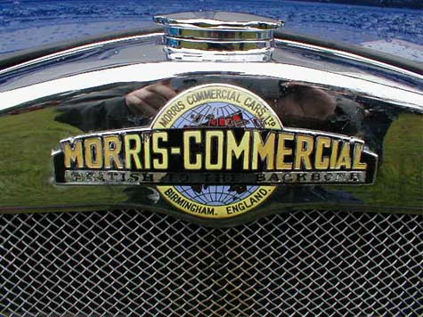 Morris Commercial Grille badge