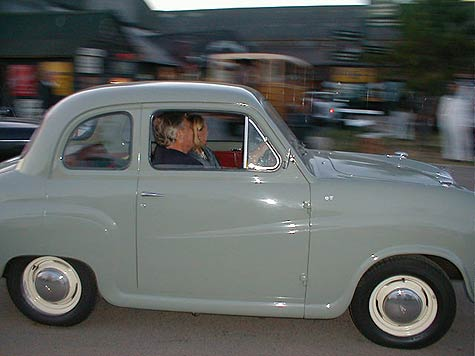Austin A35 with Barrie Williams