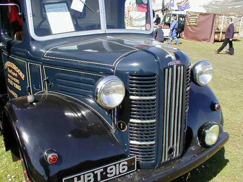Austin K series grille in blue