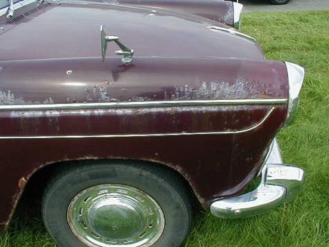 Morris Oxford front wing